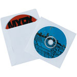 Paper Windowed CD Sleeves