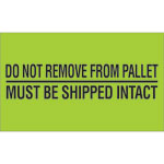 Pallet Protection Labels