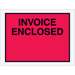 """Invoice Enclosed"" Envelopes"