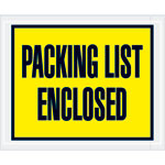 Packing List Enclosed (Full Face) Envelopes