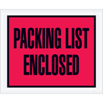"""Packing List Enclosed"" Envelopes"