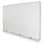 Magnetic Dry Erase Board with Marker Tray 4' x 6' (Light Duty)
