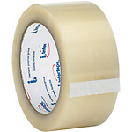 "2"" x 55 yds. Clear Intertape - 6100 Carton Sealing Tape (1.7 Mil)"
