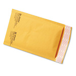 "4"" x 8"" (No. 000) Jiffylite® Kraft Self-Seal Bubble Mailers"