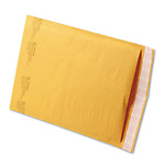 "9 1/2"" x 14 1/2"" (No. 4) Jiffylite® Kraft Self-Seal Bubble Mailers (25 Pack)"