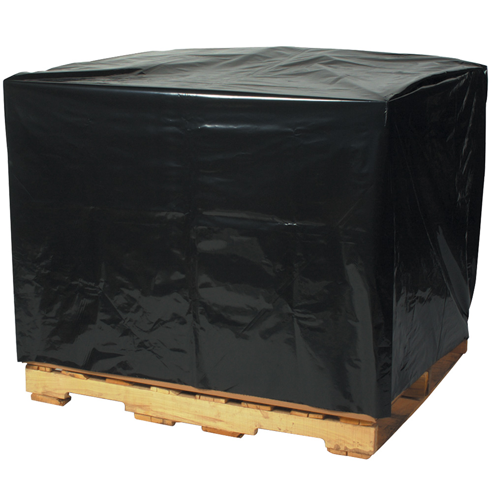 48 X 40 3 Mil Black Pallet Covers