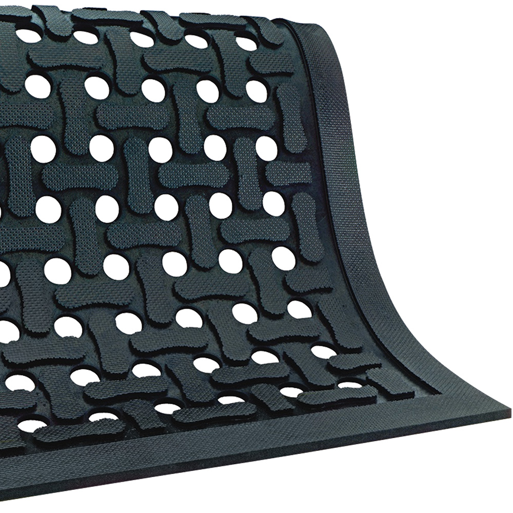 vinyl drainage rubber dri inch cactus floor pool mat dek mats interlocking pbt tiles blue x