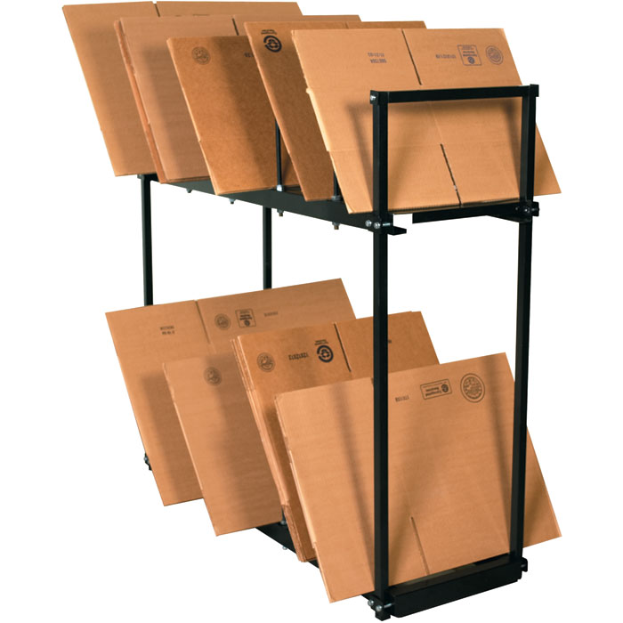 54 x 18 x 50 two tier carton stand for Stand carton