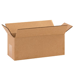 "10"" x 4"" x 4"" Long Corrugated Boxes"