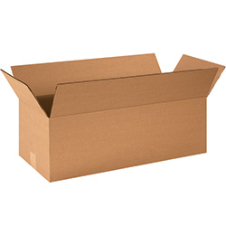 "24"" x 10"" x 8"" Long Corrugated Boxes"