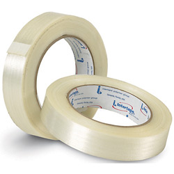 "3/4"" x 60 yds. - (12 Pack) Intertape - RG16 Filament Tape (8.5 Mil)"