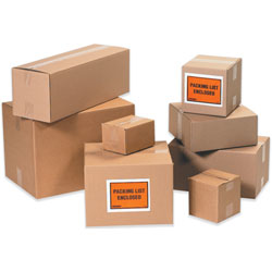 "8"" x 8"" x 2"" Corrugated Boxes"