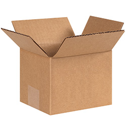 "6"" x 5"" x 4"" Corrugated Boxes"