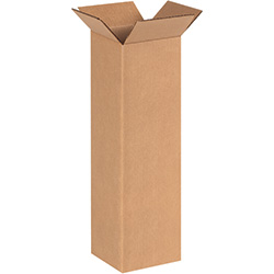 "6"" x 6"" x 20""  Tall Corrugated Boxes"