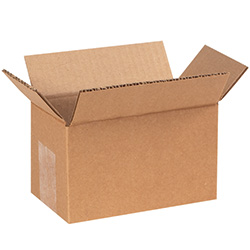 "6"" x 3"" x 3"" Corrugated Boxes"