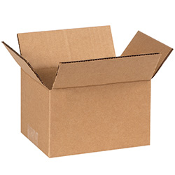 "6"" x 4"" x 3"" Corrugated Boxes"