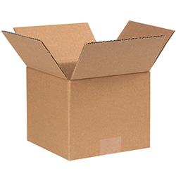 "7"" x 7"" x 6"" Corrugated Boxes"