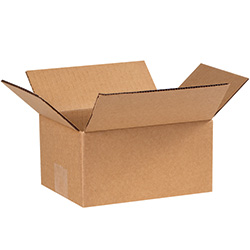 "7"" x 6"" x 4""  Corrugated Boxes"