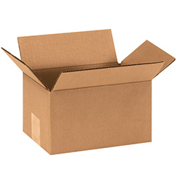 "9"" x 6"" x 5"" Corrugated Boxes"