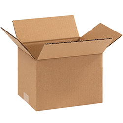 "9"" x 7"" x 6"" Corrugated Boxes"