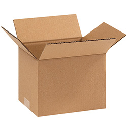 "9"" x 7"" x 7"" Corrugated Boxes"