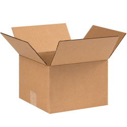 "9"" x 9"" x 6"" Corrugated Boxes"