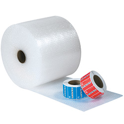 "3/16"" x 48"" x 300' - U.P.S.able Air Bubble Roll"