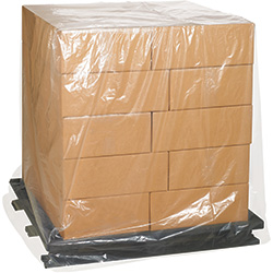 "48"" x 48"" x 72"" - 3 Mil Clear Pallet Covers"