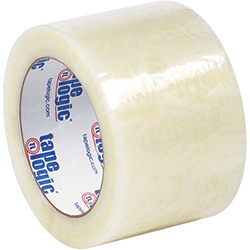 "3"" x 110 yds. Clear (6 Pack) Tape Logic® #7651 Cold Temperature Tape"