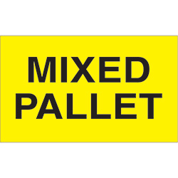 "3"" x 5"" - ""Mixed Pallet"" Labels"