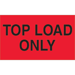 "3"" x 5"" - ""Top Load Only"" Labels"
