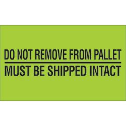 "2"" x 5"" - ""Do Not Remove From Pallet"" Labels"