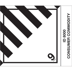 "4"" x 4 3/4"" - ""Consumer Commodity"" Labels"