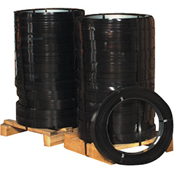 "1 1/4"" x .044 Gauge x 535' High-Tensile Steel Strapping"