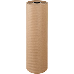 "36"" x 300' - 60# - Indented Kraft Paper Rolls"