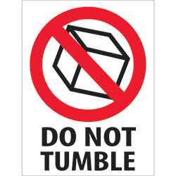 "3"" x 4"" - ""Do Not Tumble"" Labels"