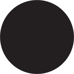"1 1/2"" Black Inventory Circle Labels"