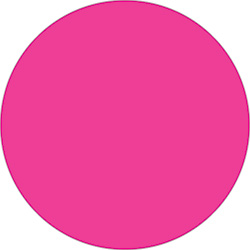 "2"" Fluorescent Pink Inventory Circle Labels"
