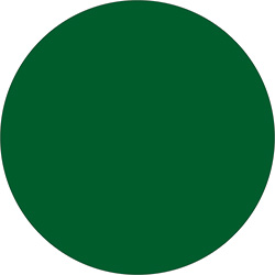 "4"" Green Inventory Circle Labels"