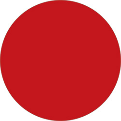 "2"" Red  Inventory Circle Labels"