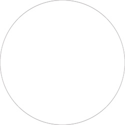 "4"" White Inventory Circle Labels"