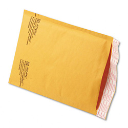 "6"" x 10"" (No. 0) Jiffylite® Kraft Self-Seal Bubble Mailers"