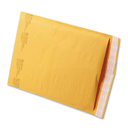 "9 1/2"" x 14 1/2"" (No. 4) Jiffylite® Kraft Self-Seal Bubble Mailers"