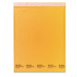 "14 1/4"" x 20"" (No. 7) Jiffylite® Kraft Self-Seal Bubble Mailers"