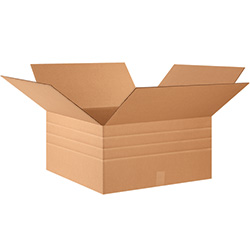 "24"" x 24"" x 12"" Multi-Depth Corrugated Boxes"