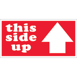 "3"" x 6"" - ""This Side Up"" Labels"