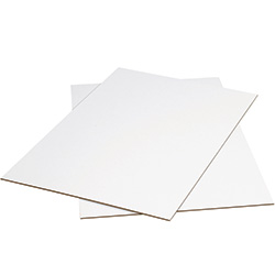 "24"" x 36""  White Corrugated Sheets"