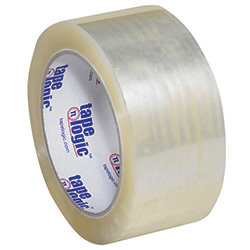 "2"" x 55 yds. Clear (6 Pack) Tape Logic™ #1000 Hot Melt Tape"