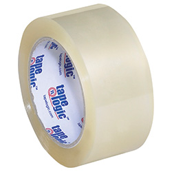 "2"" x 55 yds. Clear Tape Logic™ 3.5 Mil Acrylic Tape"