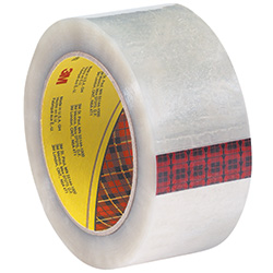 "2"" x 55 yds. Clear (6 Pack) 3M - 355 Carton Sealing Tape (3.5 Mil)"
